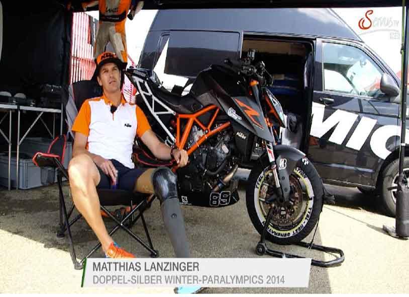 ServusTV Matthias Lanzinger DiDi