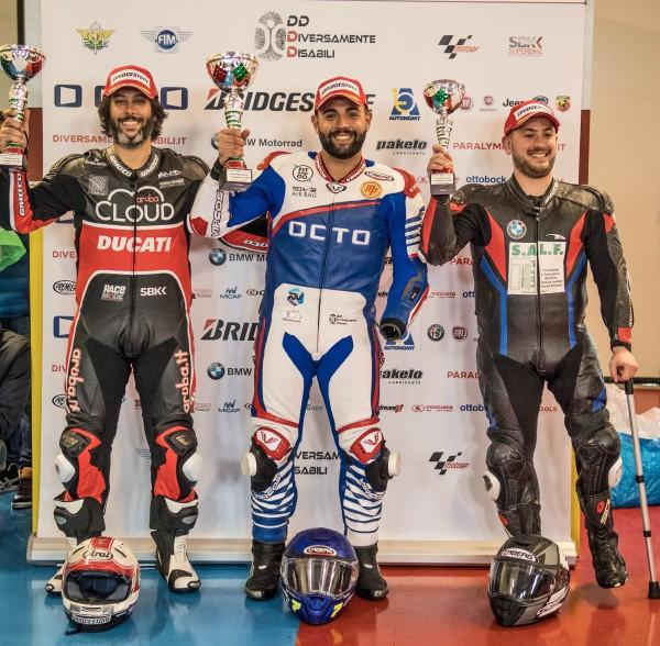 Podio 1000 Octo Bridgestone Cup 2019 - Tazio Nuvolari
