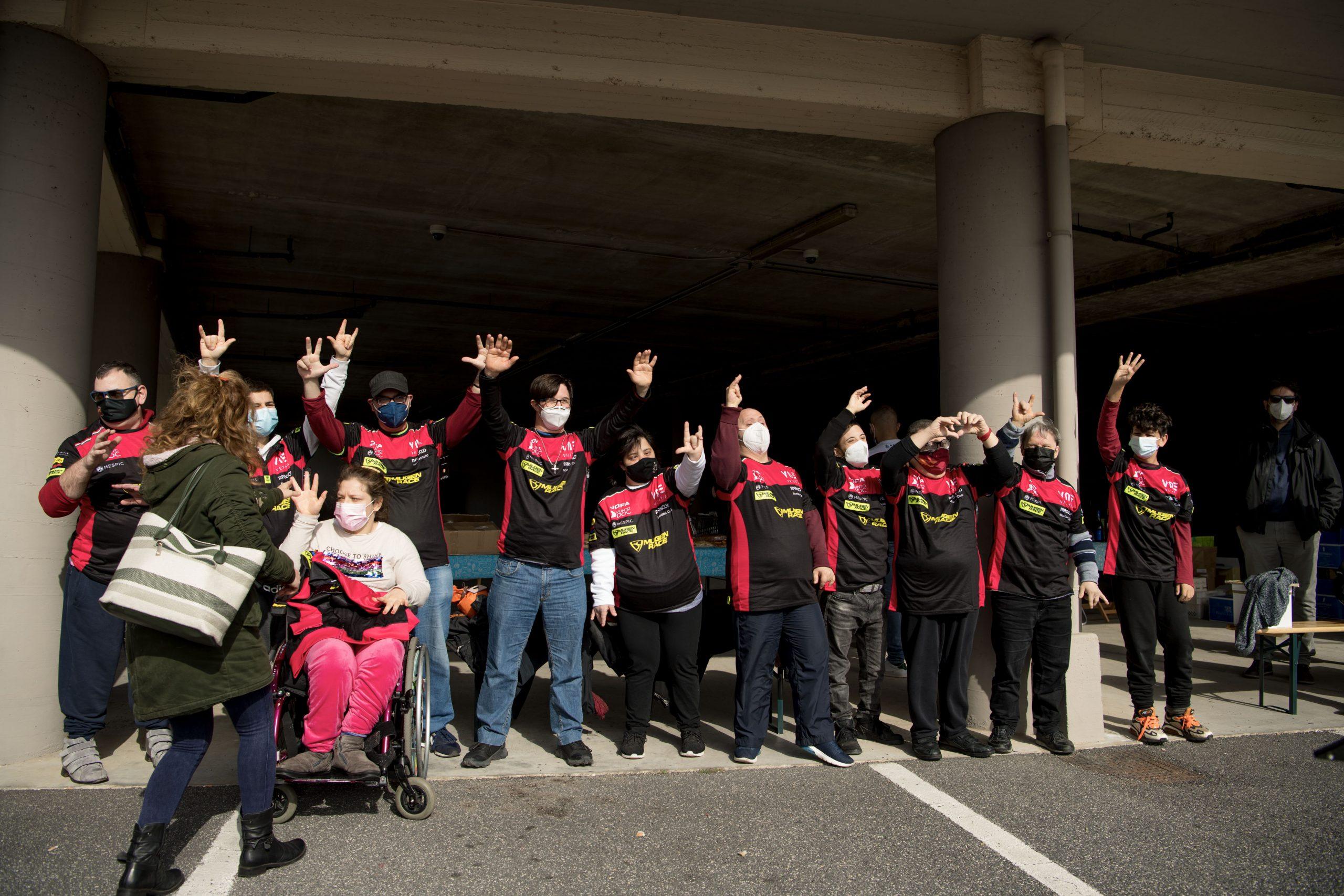 mototerapia per disabili